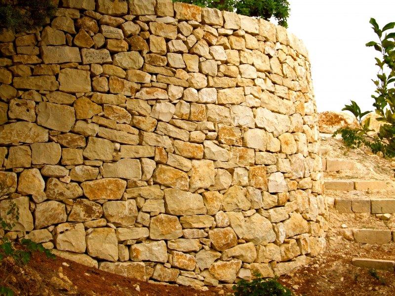 Muro di Cinta in Pietra Grezza